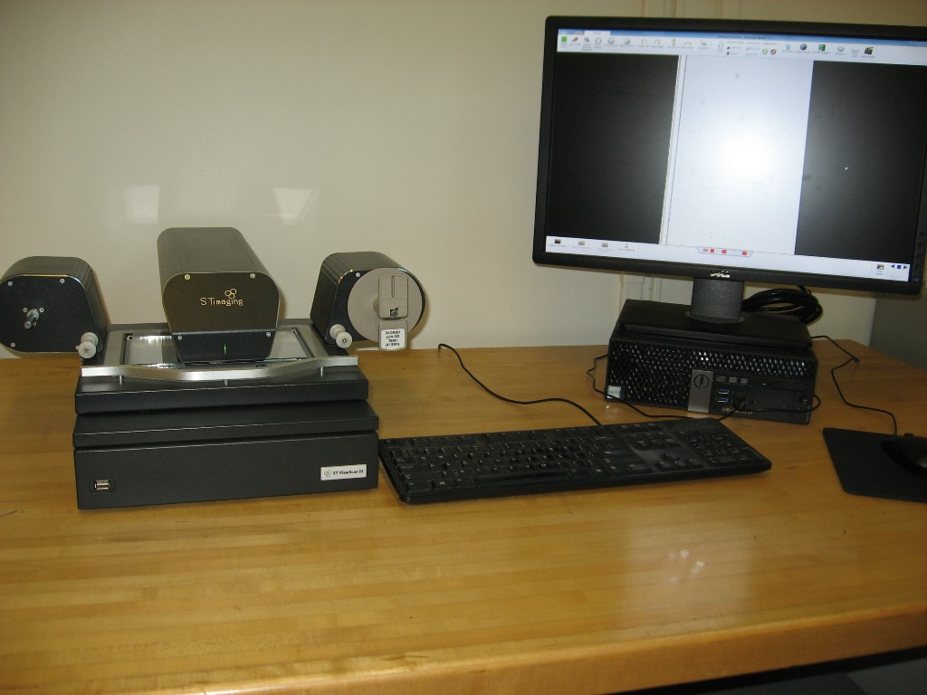 ST ViewScan III microfilm scanner